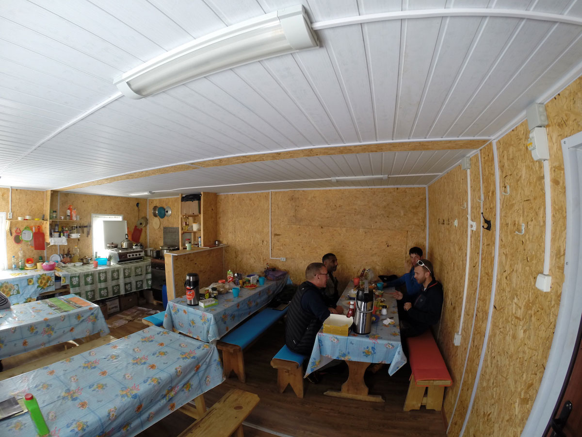 приют на Эльбрусе