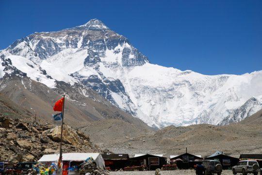 Эверест. Тибет.